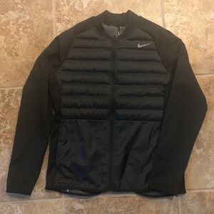 NWT Nike Golf Aeroloft Black Jacket Men Large